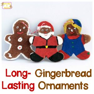 Science Christmas Ornaments: Long-Lasting Gingerbread Ornaments