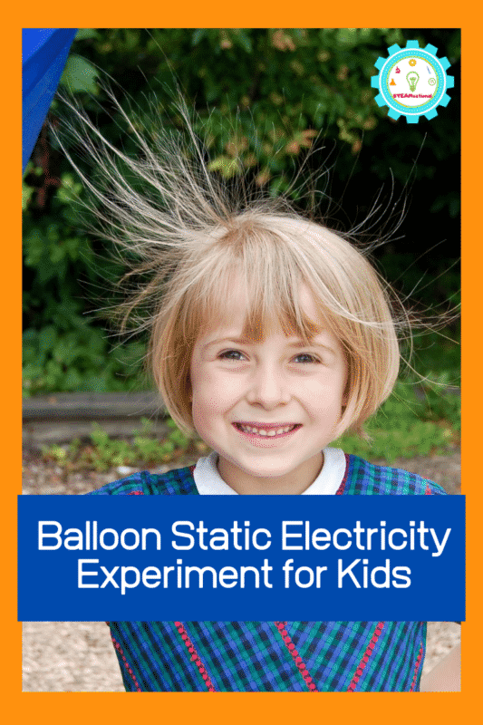 Want a super-easy science demonstration for static electricity? This static electricity for kids experiment is easy and fun for kids of all ages.