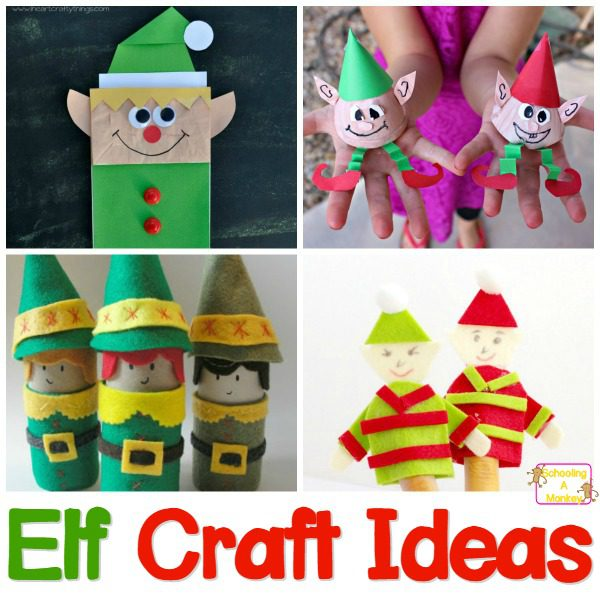 Easy Fridge-Worthy Elf Crafts for Kids Everyone Will Love!