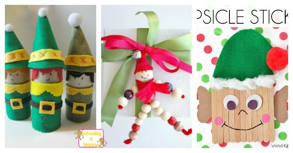 Elves are a staple at Christmas. Their work ethic makes them great role models for kids. These elf crafts for kids gives elves the recognition they deserve!