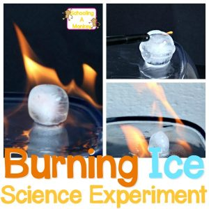 Ice Science Experiment: Can You Get Ice to Burn?