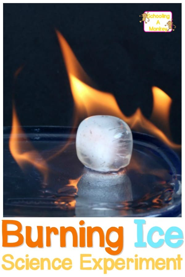 Can you set ice on fire? In this ice science experiment, adults can demonstrate to kids that in some cases, ice can actually burn.