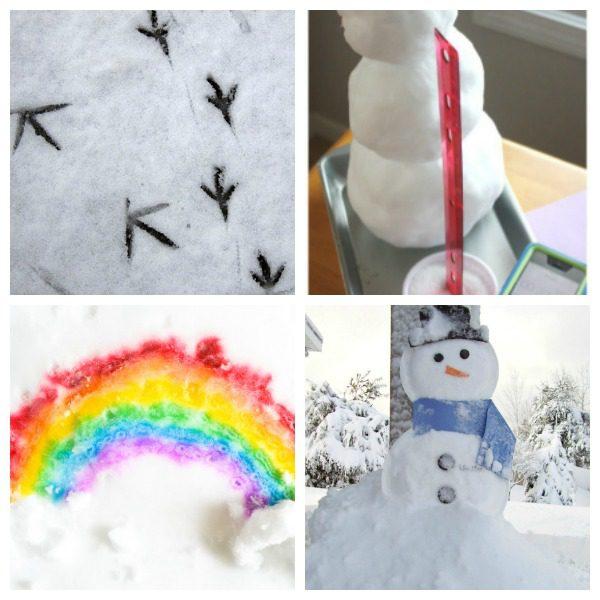 If you love snow and are lucky enough to have some this winter, try these super-fun snow science experiments! Snow has never been so fun or educational!