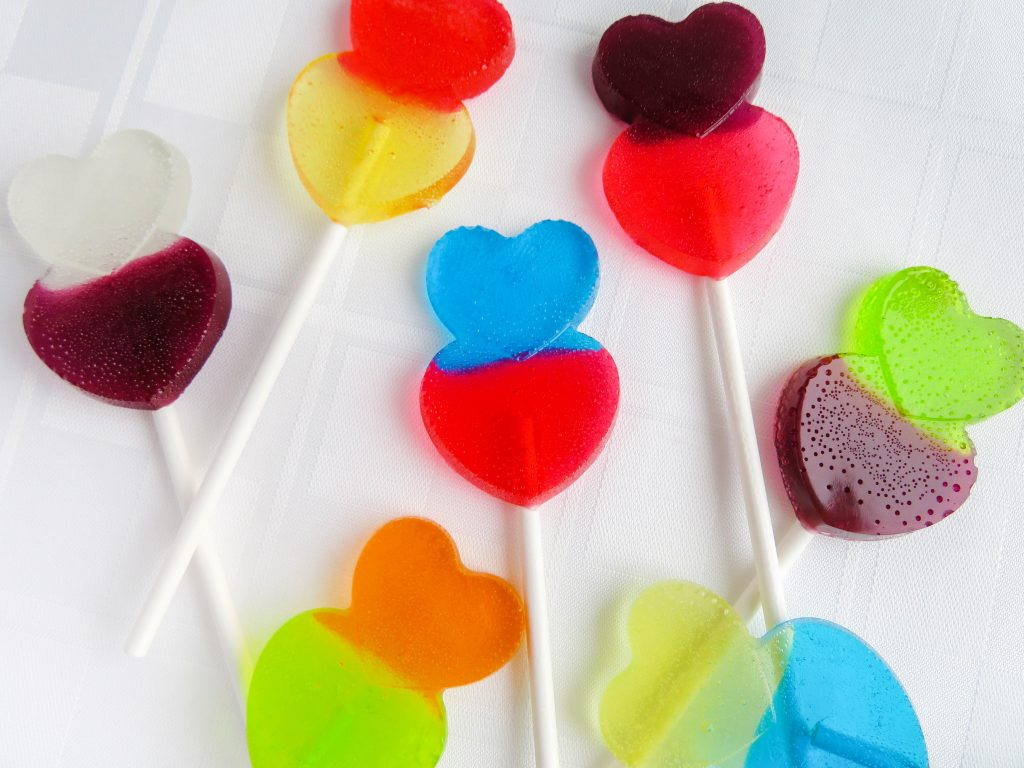 Valentine's Day is the perfect time to do kitchen science with kids. Whip up these fun heart lollipops for kitchen science fun and learning!