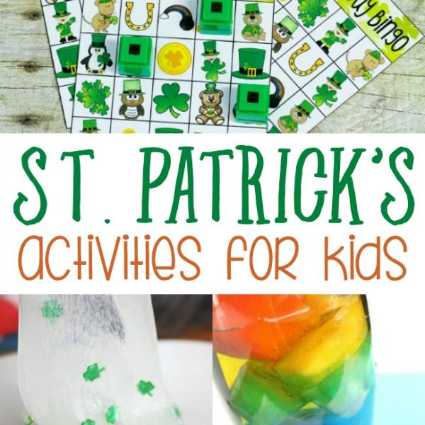 These St. Patrick's Day activities for kids are adorable, fun, and easy to make! Kids will love these activities! Fun for classrooms or home!