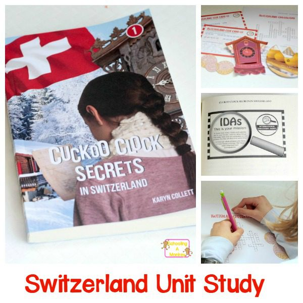 Hands-on Geography: Switzerland Unit Study with Case of Adventure