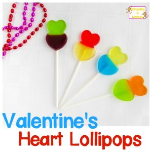 Valentine Candy Recipes: Heart Lollipops