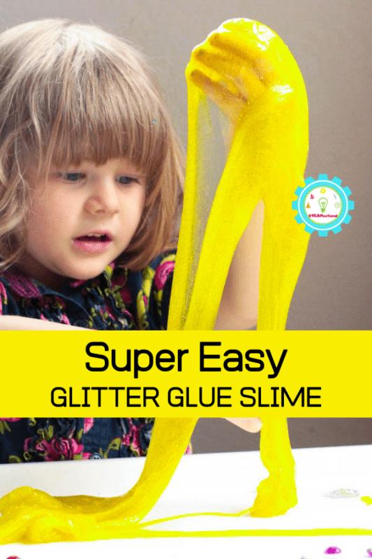 easy glitter slime