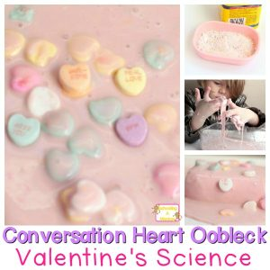 Easy Oobleck Recipe Using Conversation Hearts: Perfect for Valentine's Day!