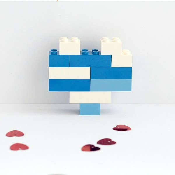 Try this simple and fun Valentine's Day engineering challenge with your kids. Can they build a LEGO heart? It sounds easy, but it's brain-stretching!