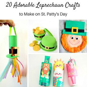 Creative Leprechaun Crafts Kids of All Ages Will Love!