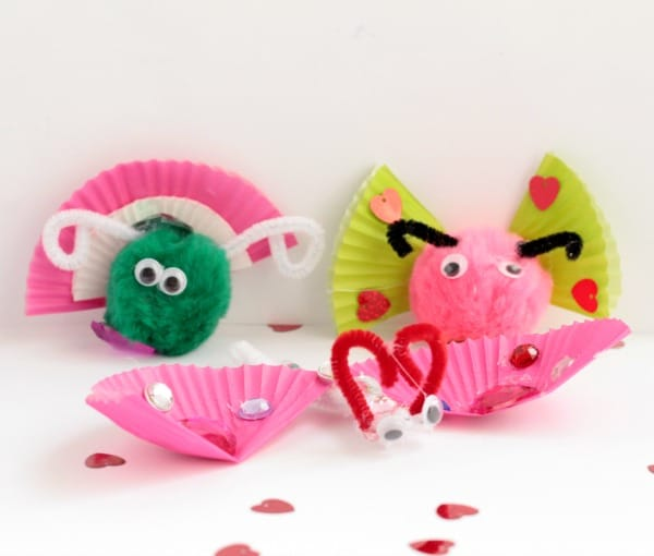Love Valentine's Day but don't want to give up on learning? Combine elements of the holiday and STEM when you make this deign a love bug craft challenge!