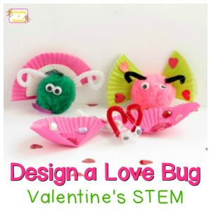 Valentine's Day STEM Activities: Design a Love Bug Craft