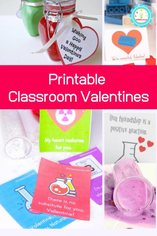 printable classroom valentines