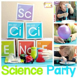 Simple, Adorable Science Party for Little Science Lovers
