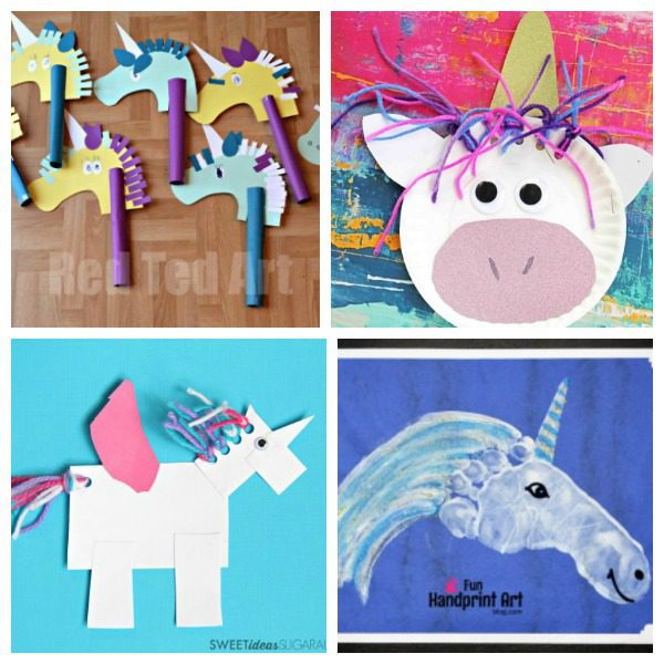 Unicorn Art Projects For Preschoolers