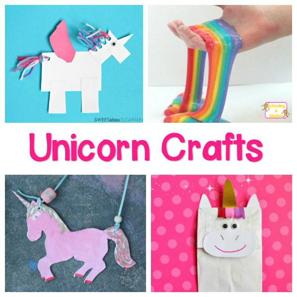 Love unicorns? Then you will LOVE this list of magical unicorn crafts for kids! Perfect for a unicorn party, classroom fun or everyday!