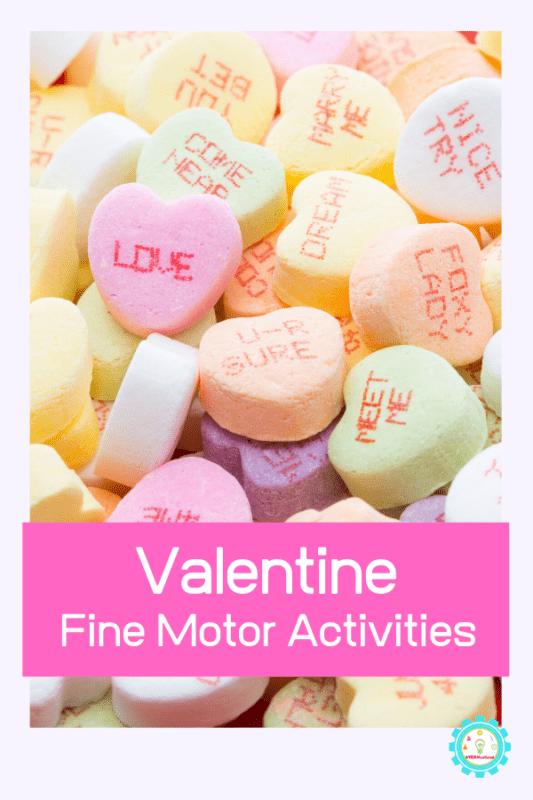 valentine fine motor activity ideas