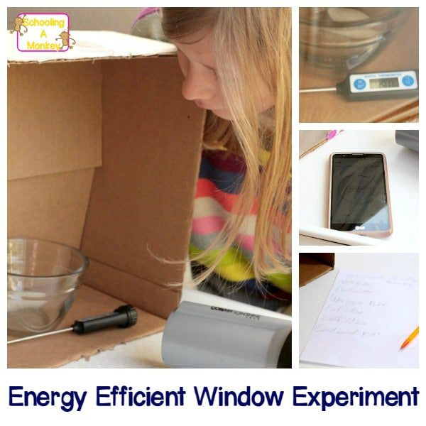 This energy efficient window science fair project tests the energy efficiency of window coverings to determine which is the most insulating against heat.