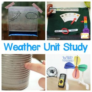 STEM Weather Activities for Kids for a Complete Weather Unit Study