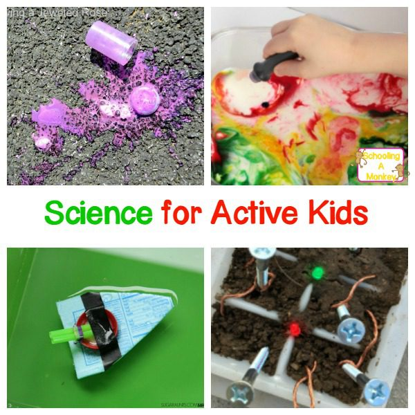 Science Fair Projects for Active Kids Who Need to Move