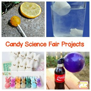 Easy Candy Science Fair Project Ideas Kids and Parents Will Love