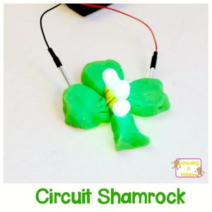 Circuits for Kids: Make a Squishy Circuits Shamrock