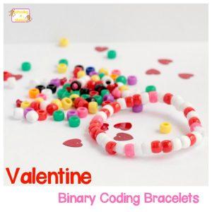 Valentine Coding Bracelets: A Valentine's STEM Activity