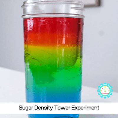 Sugar Rainbow Density Tower Experiment