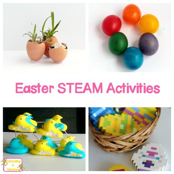 21 Exciting Hands-On Easter STEAM Activities for Kids