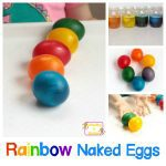 STEM Activity Ideas: Rainbow Naked Eggs Experiment