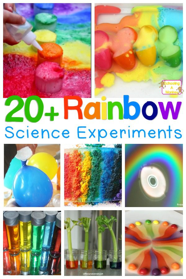Love rainbows? You won't want to miss these amazing, happy rainbow science experiments for kids. So many ways to learn with rainbows!