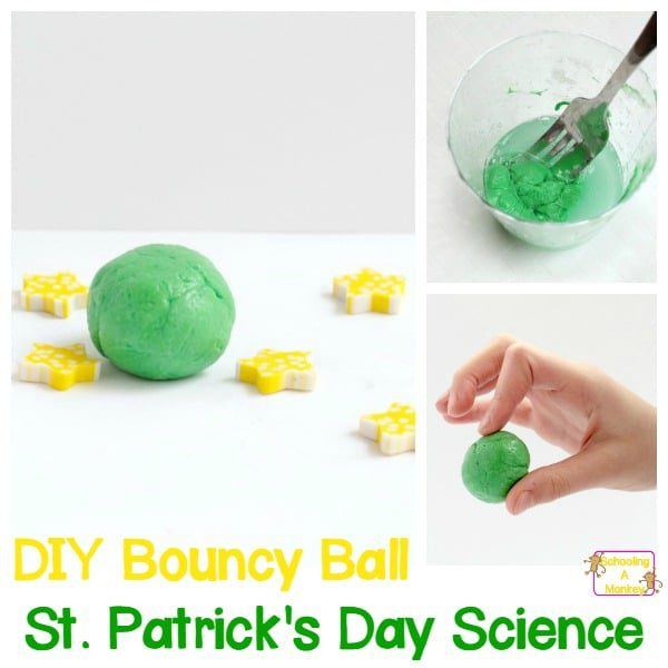 DIY Bouncy Ball: St. Patrick's Day Science