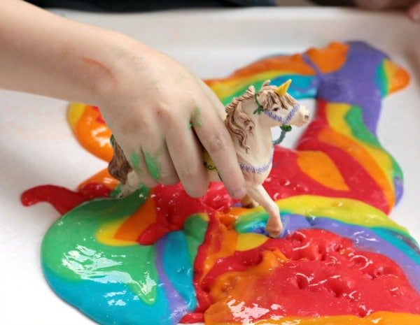 Learn how to make unicorn poop slime that will wow your friends and gross everyone else out! It's so easy, and a blast to make!