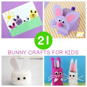 Adorable and Sweet Bunny Crafts for Kids