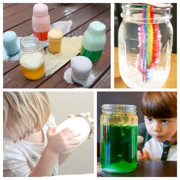 Jars are a surprisingly powerful learning tool. In this list, you'll find a collection of STEM activities and science experiments you can do in a jar!