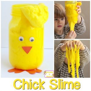Celebrate The Science of Easter with Chick Easter Slime