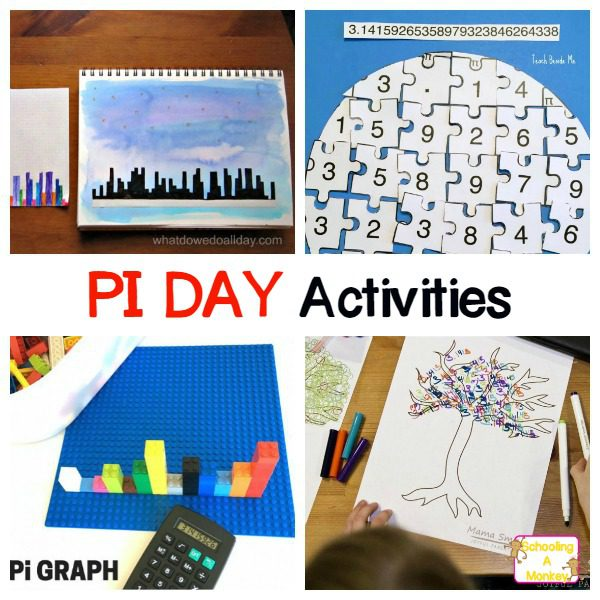Celebrate pi day in style with these fun educational pi day activities for kids where learning is just part of the fun! Kids will love these creative ideas.