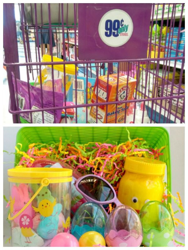 If you don't want to overload your kids with candy this Easter, try making a science Easter basket instead using stuff from The 99 Cents Only store!