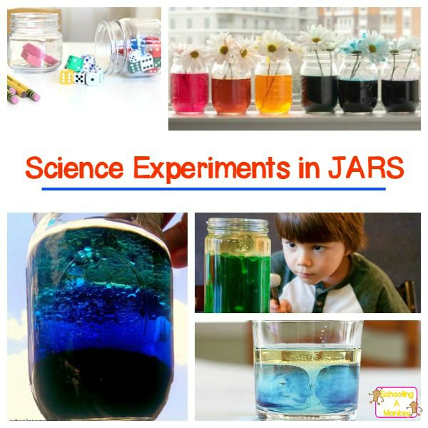 Simple and Spectacular Science Experiments in a Jar