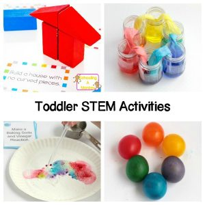 Simple and Educational STEM Projects for Toddlers