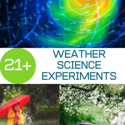 Weather Experiments for Kids!