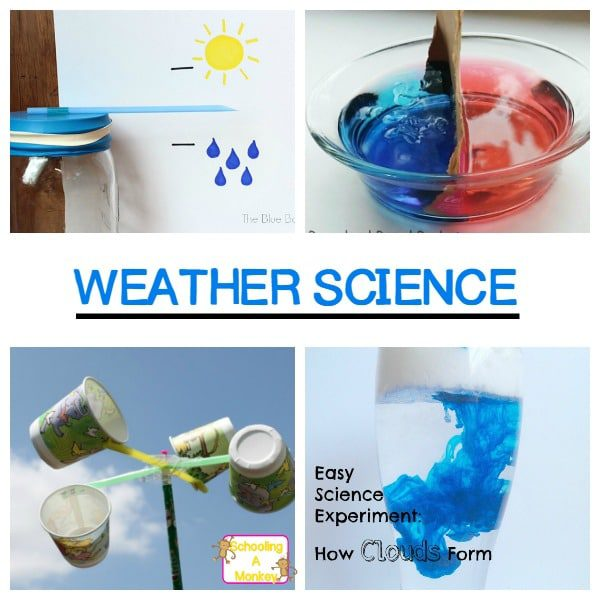 Simple Weather Science Experiments for Kids