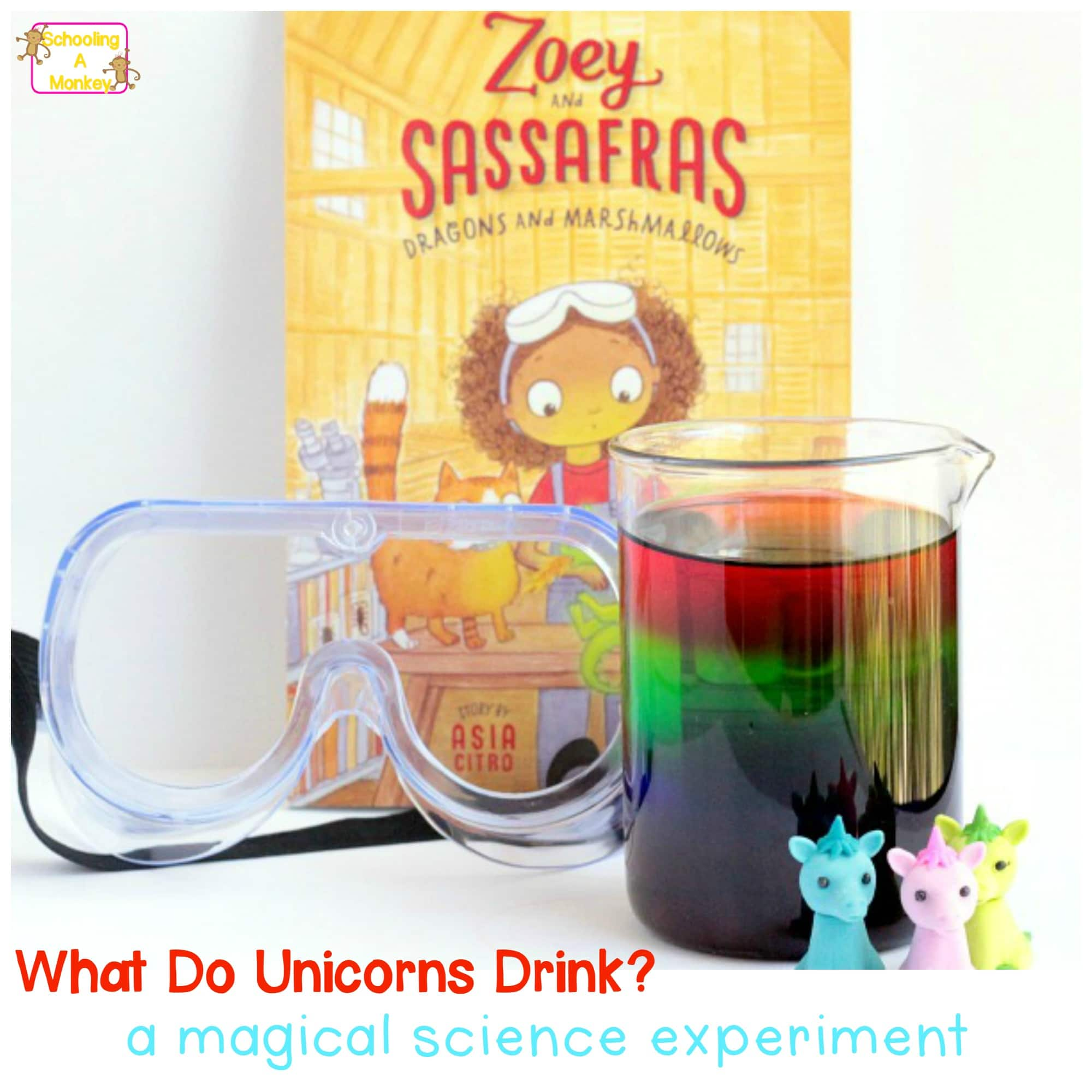 What Do Unicorns Eat? Sugar Rainbow Density Tower Experiment