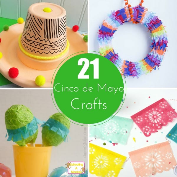 21 Festive and Fun Cinco de Mayo Crafts Kids Will Love