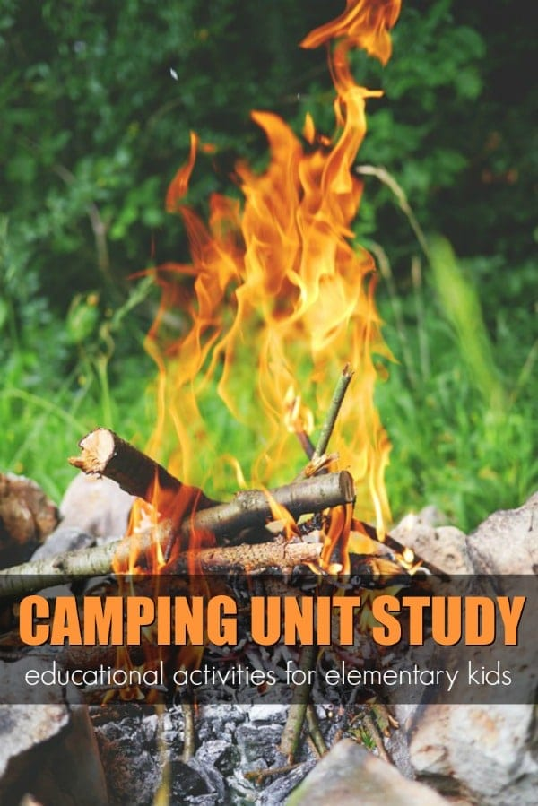 camping thematic unit