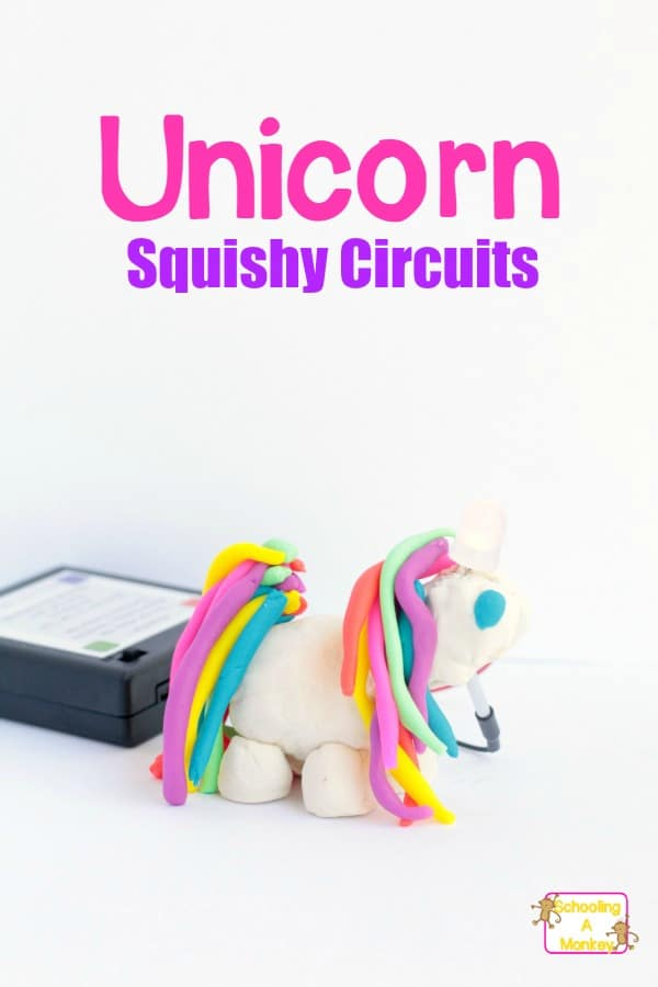 Make your very own light-up unicorn horn craft by using Squishy Circuits to engineer a complete circuit that transforms into a darling unicorn craft!
