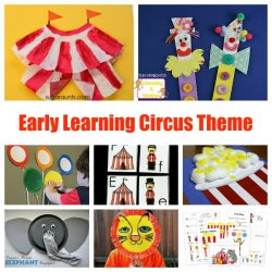 Hands-On Kindergarten and Preschool Circus Theme Kids Will Love