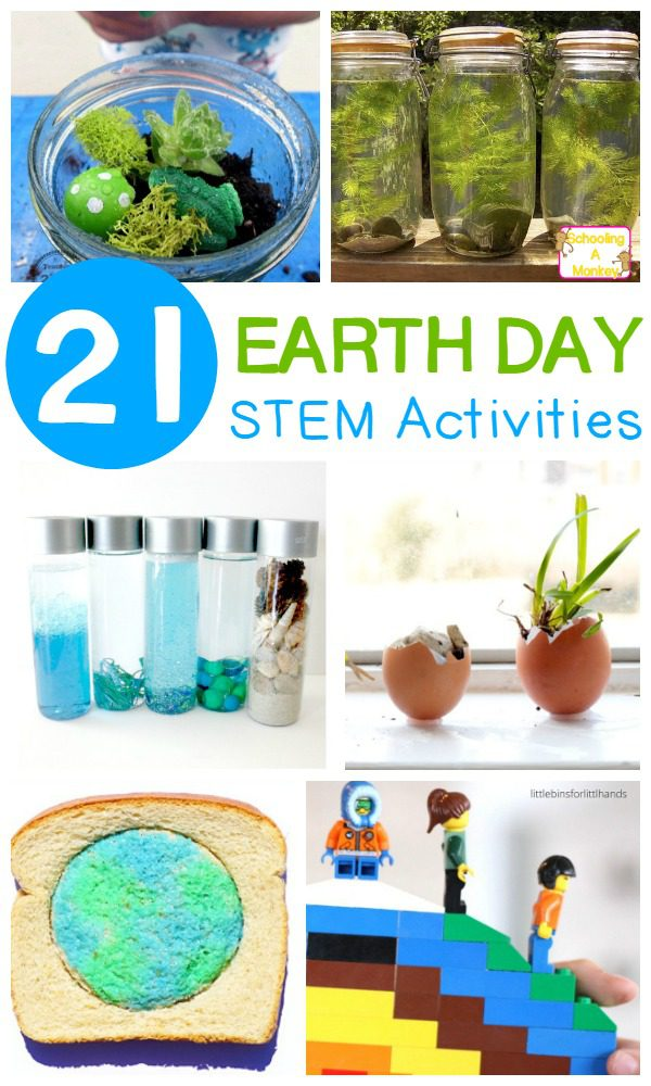 Classroom Ideas For Earth Day ~ Stem activities for earth day to inspire kids care