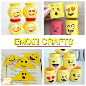 Happy and Fun Emoji Crafts and Activities for Kids